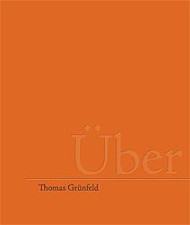 Buchtitel: Thomas Grünfeld