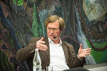Stefan Kraus auf dem Podium