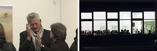 Besucher des Vortrags